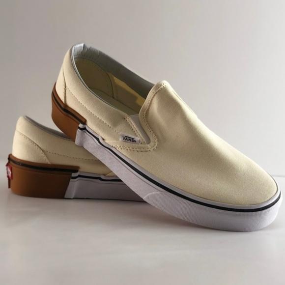 Vans Shoes | Nwt Vans Clasic Slipon Gum